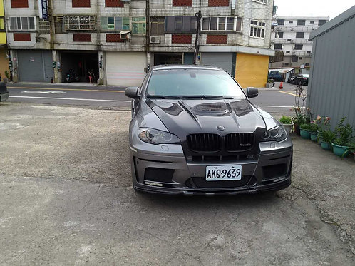 BMW E71 X6 HAMANN TYCOON EVO STYLE TYPE-2 WIDEBODY FRONT BUMPER