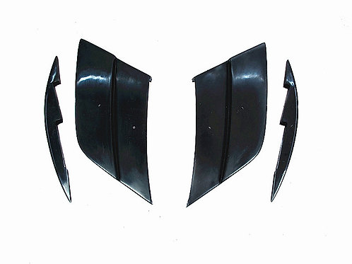 MB R197 C197 SLS-CLASS AMG MISHA STYLE FRONT FENDER VENT PANEL