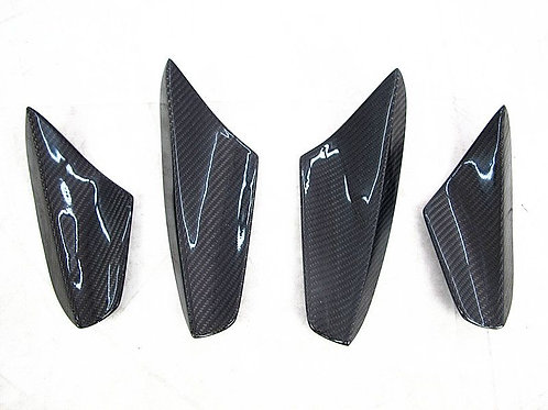 08-15 SCIROCCO R MK3 ARS STYLE FRONT CANARDS