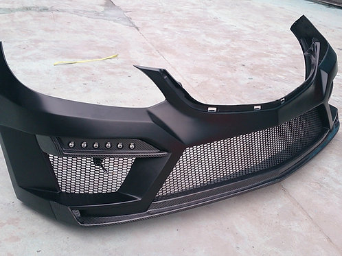 MB 14' W212 E-CLASS TP STYLE FRONT BUMPER W/LED LAMP