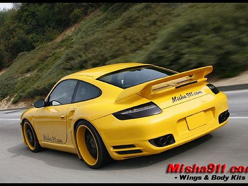 PORSCHE 911 997 CARRERA MISHA GTM STYLE REAR SPOILER