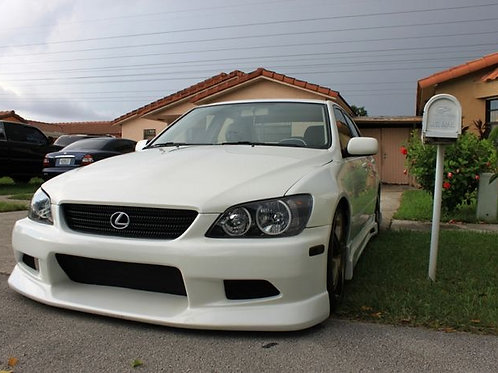 LEXUS IS200 C-WEST STYLE FRONT BUMPER FITTED