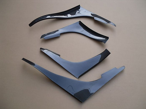 NISSAN R32 GTR TBO STYLE FRONT CANARDS-4PCS