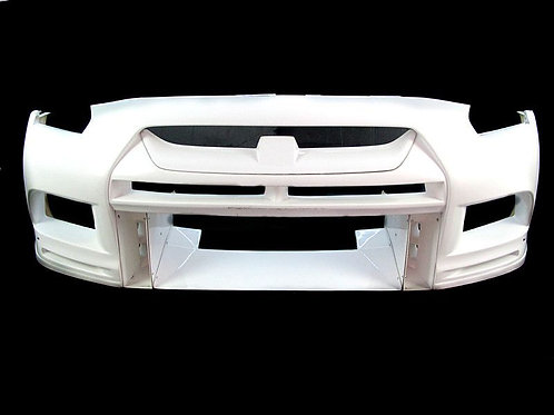 08-16' GTR R35 TOP RACING STYLE FRONT BUMPER W/O CANARD AND FRONT DIFFUSER