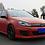 Thumbnail: VW GOLF 6 MK6 GTI OSIR STYLE FRONT LIP W/ DIFFUSER