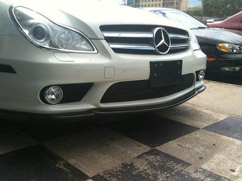 MB W219 CLS-CLASS AMG CARLSSON STYLE FRONT LIP(FIT ON AMG FRONT BUMPER)