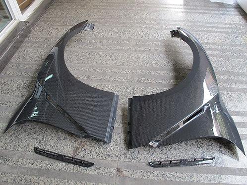08-16' GTR R35 OEM STYLE FRONT FENDER W/ VNET-PAIR