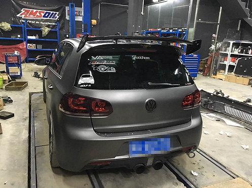 VW GOLF 6 GTI 6R ROWEN STYLE ROOF WING