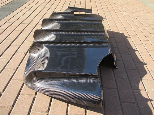 MAZDA FD3S RX7 FEED TYPE-2STYLE REAR DIFFUSER