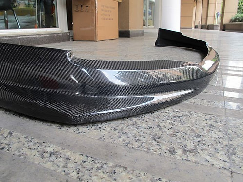 EVOLUTION X/10 VAR STYLE FRONT LIP SMALL CARBON-1 PIECE