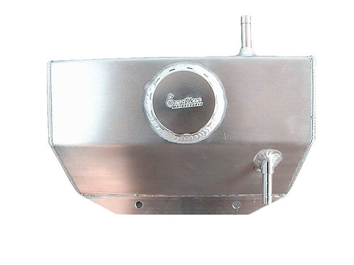 FORD MUSTANG BZM STYLE COOLANT EXPANSION TANK WITH CAP ALUMINIUM
