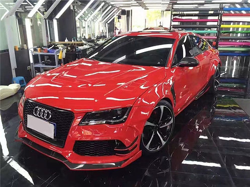 AUDI S7 A7 S-LINE RS7 4G TOP STYLE FRONT & REAR FENDER FLARE