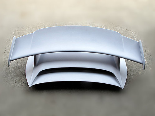 11'-15' PORSCHE CARRERA 911 991.1 GT3 STYLE REAR SPOILER & BASE WITH BRAKE LAMP