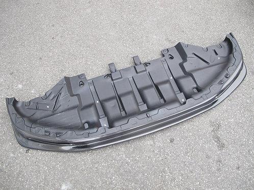 08-16' GTR R35 TOP SECRET STYLE FRONT LIP W/ UNDERTRAY