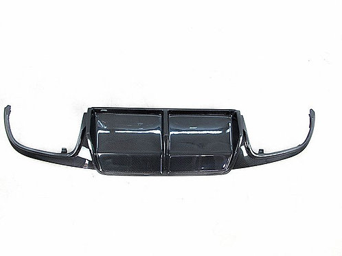 MB 08-10' C63 AMG ARYKM STYLE REAR DIFFUSER