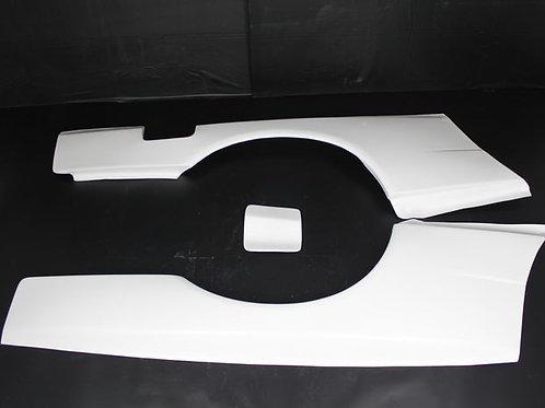 NISSAN GTR/GTT R34 CONVERSION STYLE REAR FENDER FLARE +50MM