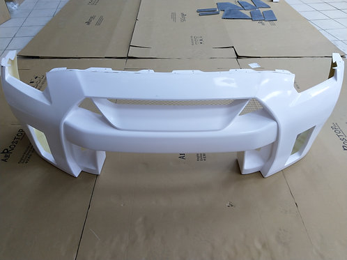 NISSAN R35 GTR L&B WORKS TYPE-2 STYLE FRONT BUMPER W. DRL