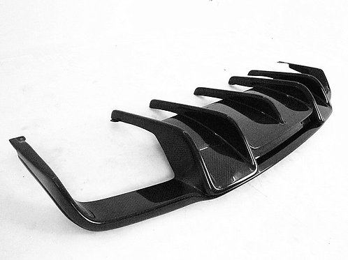 MB C218/W218 CLS63 AMG RENNTECH STYLE REAR DIFFUSER