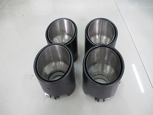 08-16' GTR R35 EXHAUST TIP DRY CARBON-4PCS