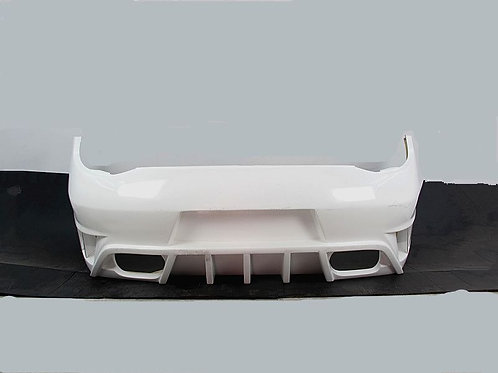 09-12' CARRERA 911 997 2.MISHA GTM STYLE REAR BUMPER