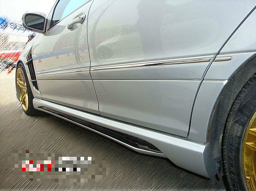 MB 01-07' W203 C-CLASS WALD STYLE SIDE SKIRTS