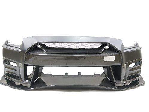 08-16' GTR R35 NISMO 17' STYLE FRONT BUMPER W/O LIP