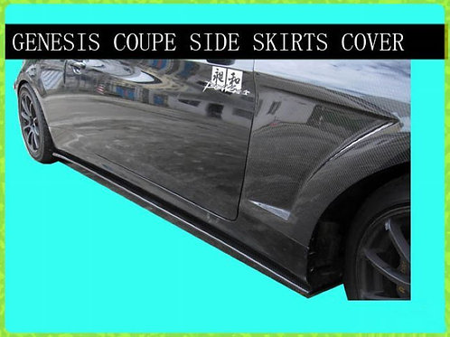 HYUNDAI GENESIS COUPE KDM STYLE SIDE SKIRTS EXTENSIONS