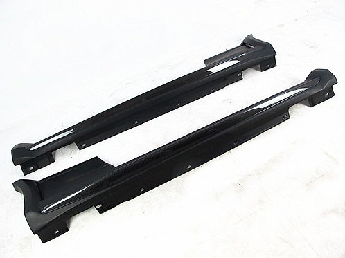 MB 11-13' W204 C63 AMG 2D BLACK SERIES STYLE SIDE SKIRTS