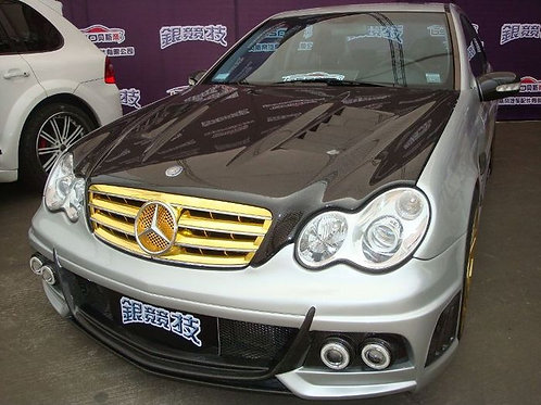 MB 01-07' W203 C-CLASS WALD STYLE FRONT BUMPER