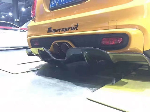 BMW MINI F55/F56 COOPER S DUELL AG STYLE REAR BUMPER LIP