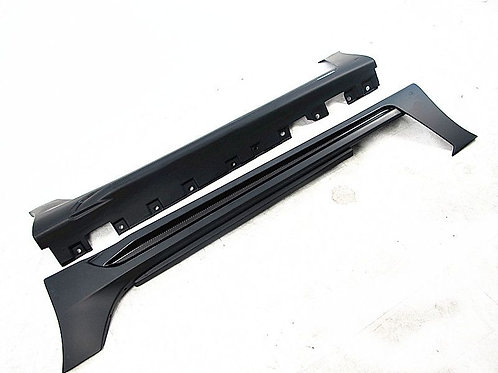 MB R172 SLK WALD BLACK BISON STYLE SIDE SKIRTS