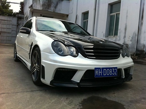 MB 01-07' W203 C-CLASS AMG STYLE FRONT BUMPER