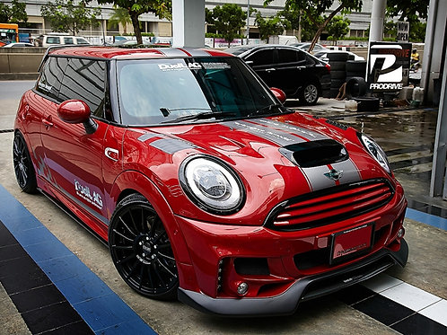 BMW MINI F55/F56 COOPER S DUELL AG STYLE FRONT BUMPER W LED&FOG LAMP