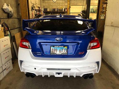 2015+STI/WRX VARIS ULTIMATE STYLE REAR BUMPER same as widebody kit's rear bumper