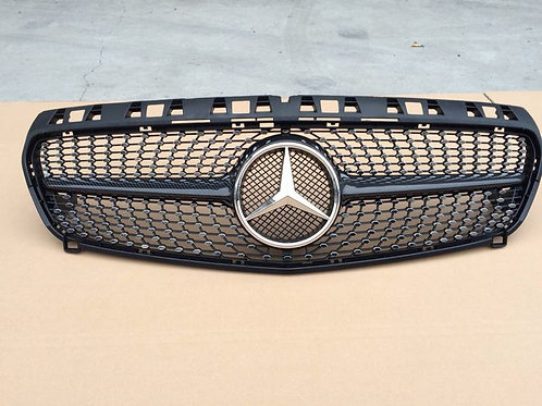 MB W176 A-CLASS A250 STYLE FRONT GRILL CARBON-NEW!