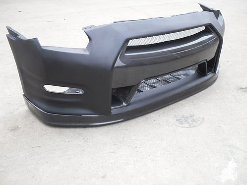 08-16' GTR R35 OEM STYLE FRONT LIP