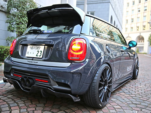 BMW MINI F55/F56 COOPER S DUELL AG STYLE SIDESKIRT UNDER BOARD