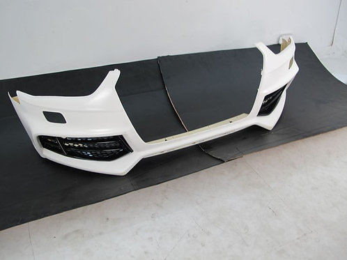 AUDI A4 B8FACELIFT MODEL RIGER RS5 STYLE FRONT BUMPER W/O FRONT GRILLE/FOG LAMP