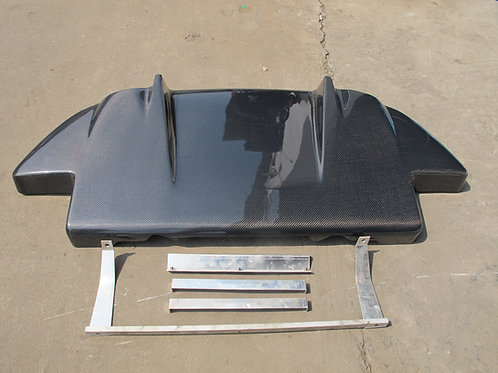 HONDA S2000 AP1/AP2 VOLTEX STYLE REAR DIFFUSER W/FITTING KIT