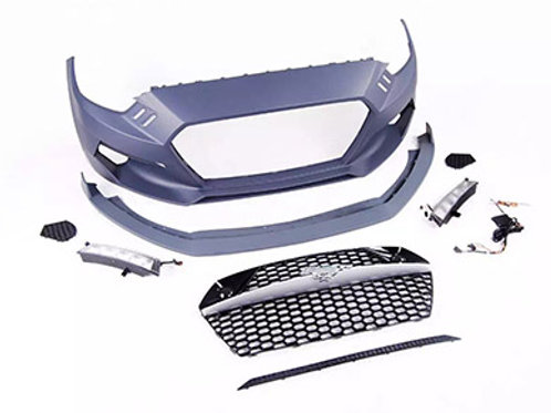 FORD MUSTANG ROCKET STYLE FRONT BUMPER W LIGHTS