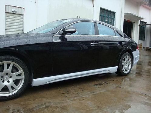 MB W219 CLS-CLASS WALD STYLE SIDE SKIRTS