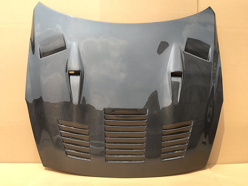 08-16' GTR R35 GTC STYLE CARBON HOOD- IN STOCK