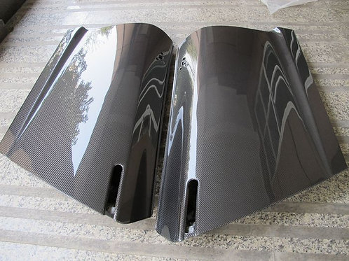 08-16' GTR R35 OEM STYLE DOOR(PAIR) DRY CARBON!FOR TRACK CAR!NEW!
