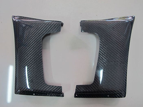 EVOLUTION 7/8/9 VA FRONT FENDER ADDON CARBON(PAIR)-2 PCS