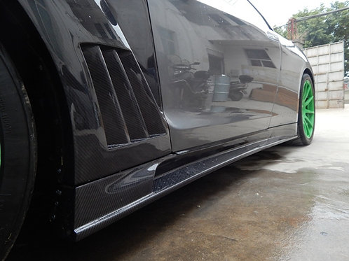 08-16' GTR R35 TP WIDE STYLE SIDE SKIRTS