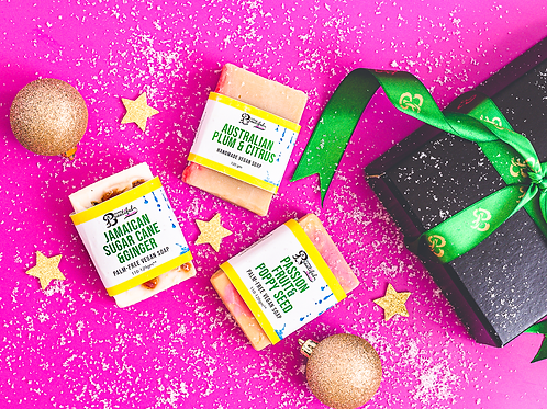 Palm-Free Vegan Soap Trio