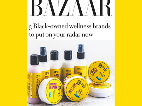 We're One of Harper's Bazaar's 5 Black-Owned Wellness to Put on Your Radar