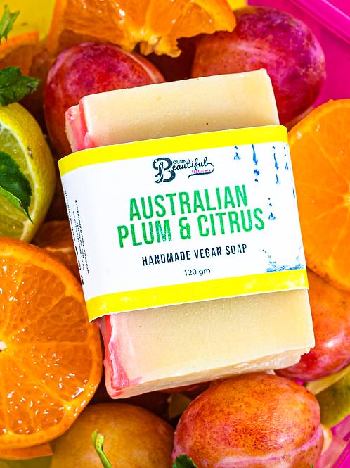 Australian Plum & Citrus SFSC Vegan Soap