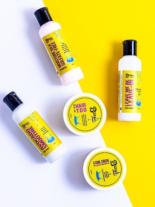 Wash Day Essentials Kit (w/ bonus Curl Crush Gel)