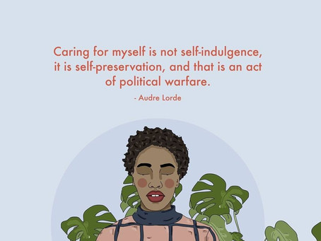 Self-care is...Self-care ain't